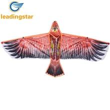 LeadingStar 53 Inch Huge Eagle Kite With String Handle Novelty Toy Kites Eagles Large Flying Funny Toys For Children