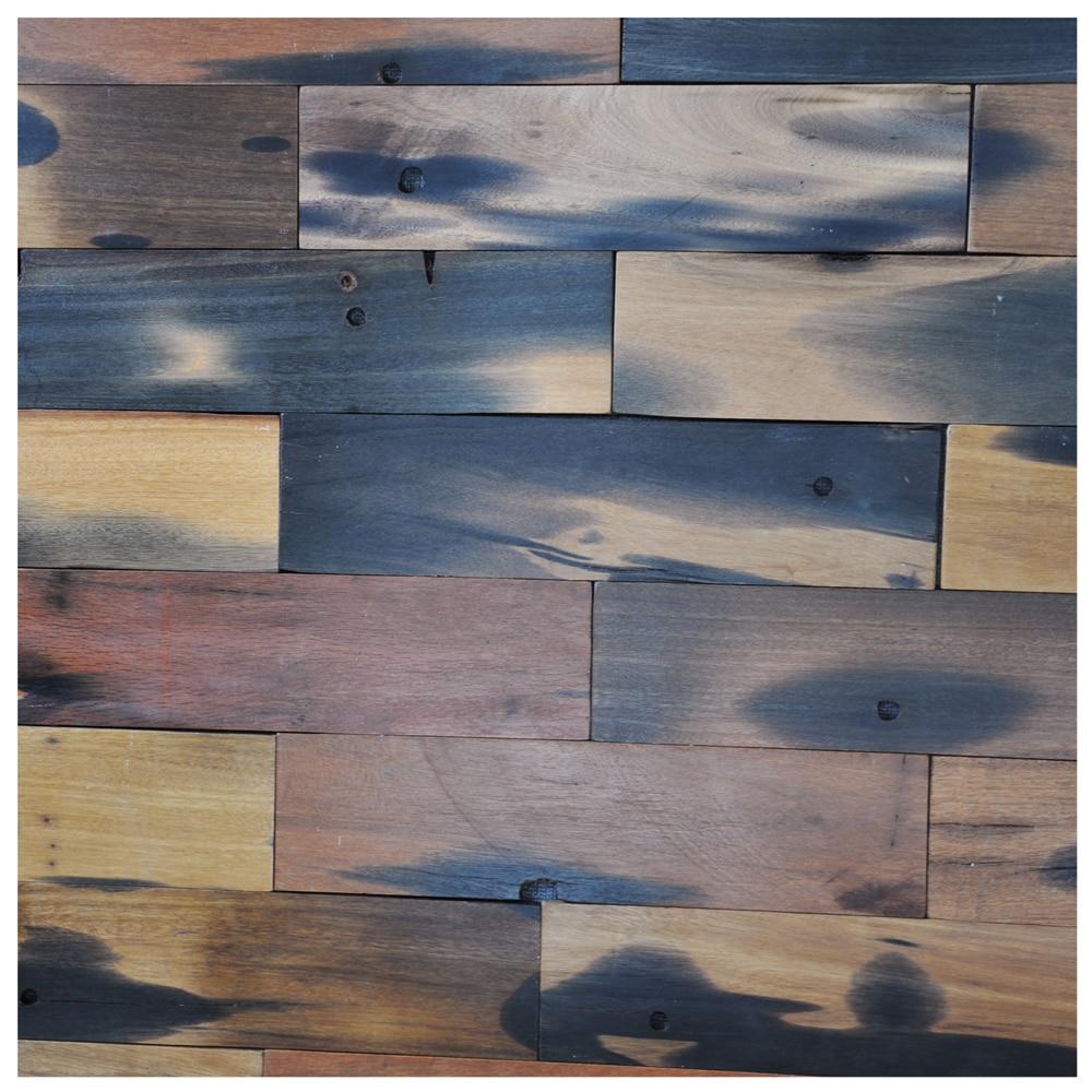 Senovės Laivo Medinių Plokscių Sienos Regeneruotos Medienos Sienų Plokstės Vidaus Sienų Plytelės 4 X 16 Col