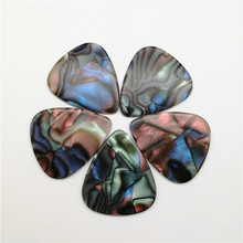 Beautiful Blank Grey Pearl Marbled Celluloid Guitar Picks Customized Color Guitarra 0 96mm heavy light green blank celluloid apparent transparent guitar pick