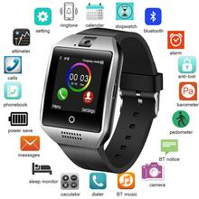 BANGWEI 2018 New Men Women Smart Watch Sport Pedometer SmartWatch Music Player Support TF SIM WhatsApp Facebook Message alerts