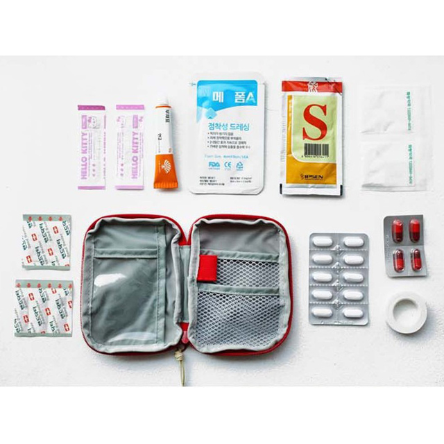 Outdoor First Aid Emergency Oxford Pouch 4