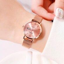 Marca superior oupai luxo relógios femininos moda senhoras strass relógio de quartzo à prova dsimple água relógio simples relógio relogio feminino