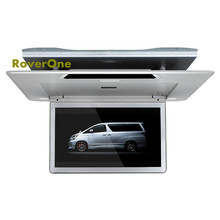Buy For Toyota Alphard 13.3'' High Resolution Car Roof Mount Monitor Flip down Over head Car Ceiling Wide Drop Down LCD Display directly from merchant!