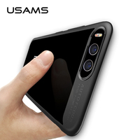 USAMS Full Protective Case For Xiaomi Mi 6 TPU Acrylic Transparent Back Cover Ultra Slim For