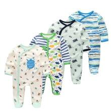 4 шт./партия, детская одежда для мальчиков и девочек, детские пижамы, весенний комплект с короткими рукавами, детская одежда для сна с рисунком