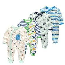 4 PCS/lot Kids Boys Girls Clothes Baby Pajamas springShort Sleeve Set Cartoon  Children's Sleepwear