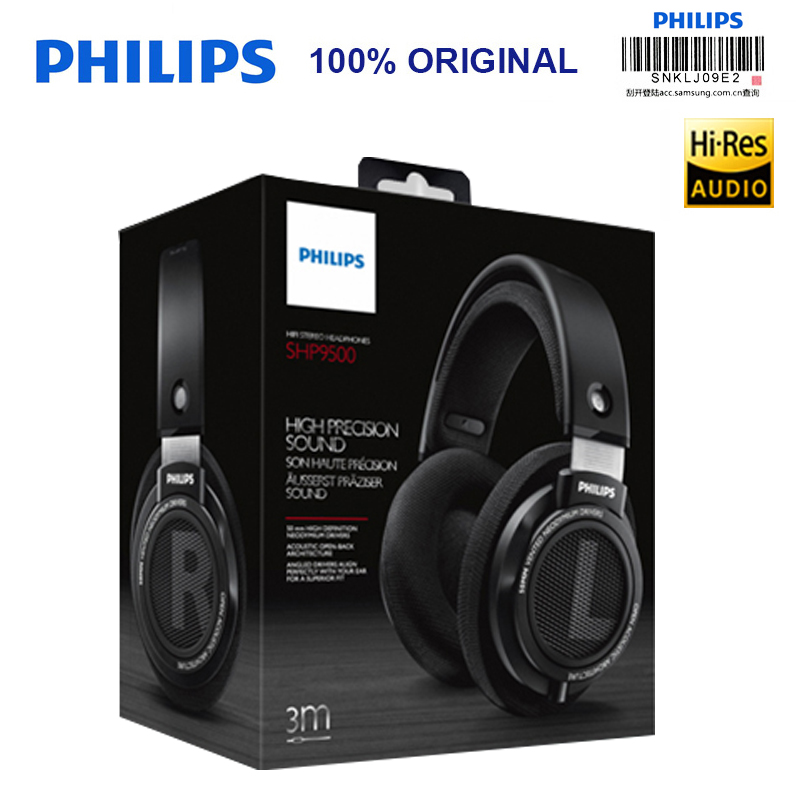 Philips SHP9500 Professional Earphone with 3m Long Wire Noise reduction  Headphones for xiaomi SamSung S8 MP3 Official Test-in Headphone Headset  from ... 96f98c4dfa