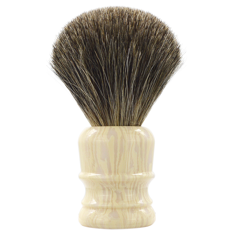 Dscosmetic New Pure Badger Hair Wet Shaving Brush With Resin Handle For Men Shave