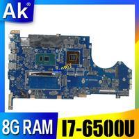 Q524UQ Laptop płyta główna Q524U Q524UQ dla Asus w pełni przetestowane 8G RAM I7 6500U GT940/2 GB karta graficzna w Płyty główne od Komputer i biuro na