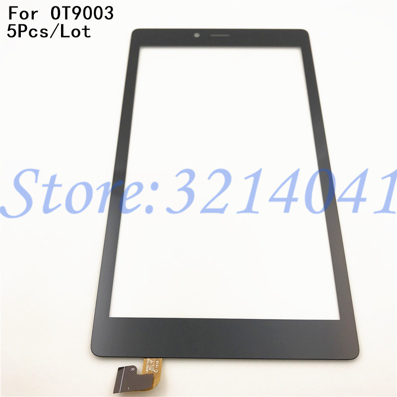 5Pcs/Lot 100% Tested For Alcatel One Touch Pixi 4 7.0 9003 OT9003 9003A 9003X Touch Screen Digitizer Front Glass Panel Sensor image