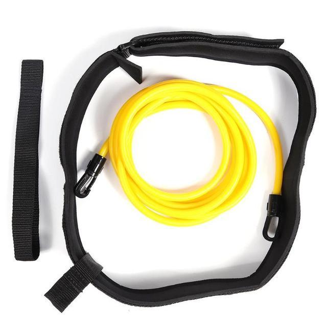 Ceinture de résistance dentraînement de natation réglable ceinture dexercice élastique de natation maille accessoires de piscine de sécurité pour enfants adultes