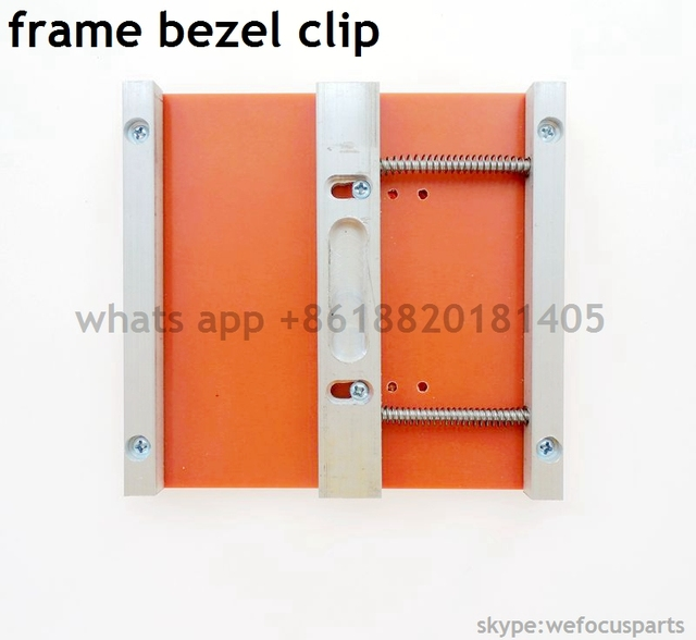 For iphone 4 4s 5 5s 5c 6 6s plus mould LCD UV Glue Mold Mould Glass frame bezel clip for hot glue user