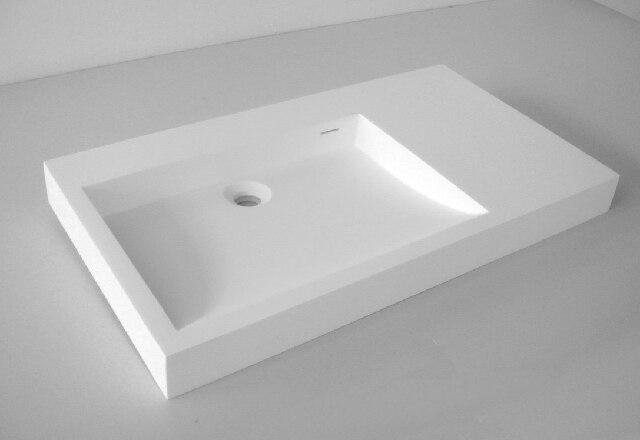 Lavabo contatore bacino lavello in pietra artificiale ...