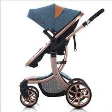 Baby Stroller 4 Colors Choosing Kids Stroller For 0 3 Years Aluminum Folding stroller baby 25kg