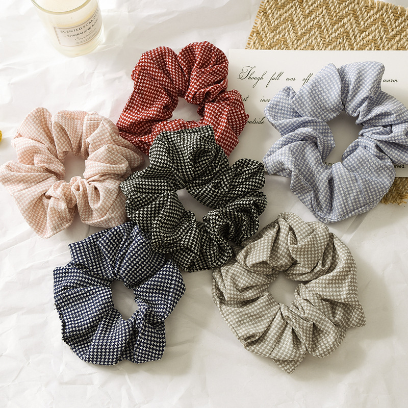 Houndstooth Headband for Women Retro Holiday Women Elegant Makeup Accessory New Arrival 2019 Hair Accessories Trending Products