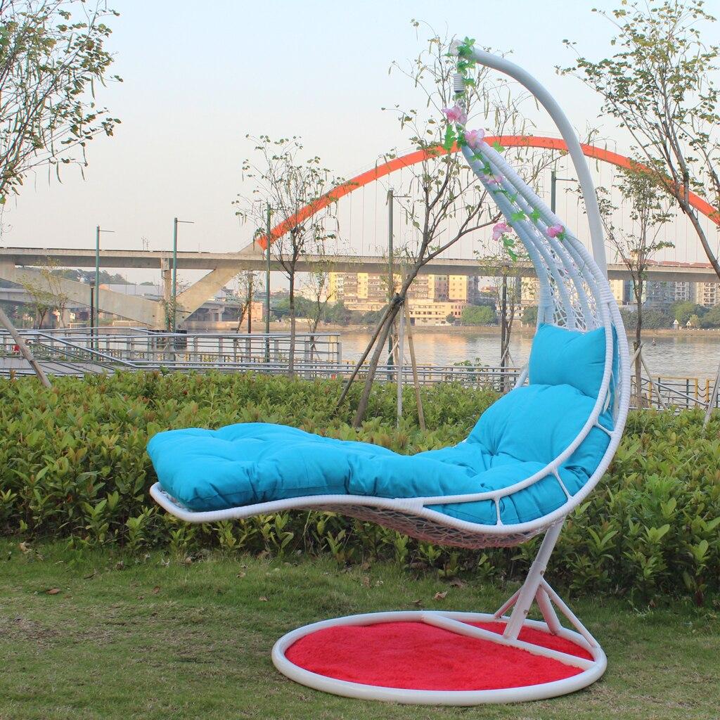 outdoor wicker hammock chair stainless steel hs code rattan basket swing hanging indoor balcony