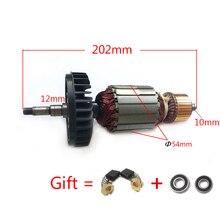 AC220 240V Armature для MAKITA GA9020 GA7020 GA9020S GA7020S GTPSE 517794 5 517793 7, угловая шлифовальная машина