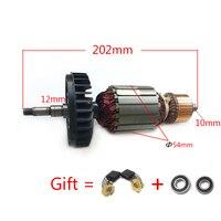 AC220 240V Armature Rotor Anchor for MAKITA GA9020 GA7020 GA9020S GA7020S GTPSE 517794 5 517793 7 Motor Angle Grinder