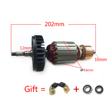 AC220 240V Armature ancla de Rotor para Motor, amoladora angular, MAKITA GA9020 GA7020 GA9020S GA7020S GTPSE 517794 5 517793 7