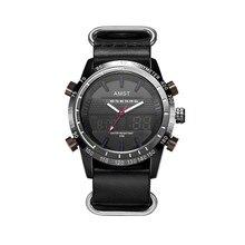 Male Fashion Sport Military Wristwatches 2017 New AMST Watches Men Luxury Brand waterproof LED Digital Analog Quartz Watches