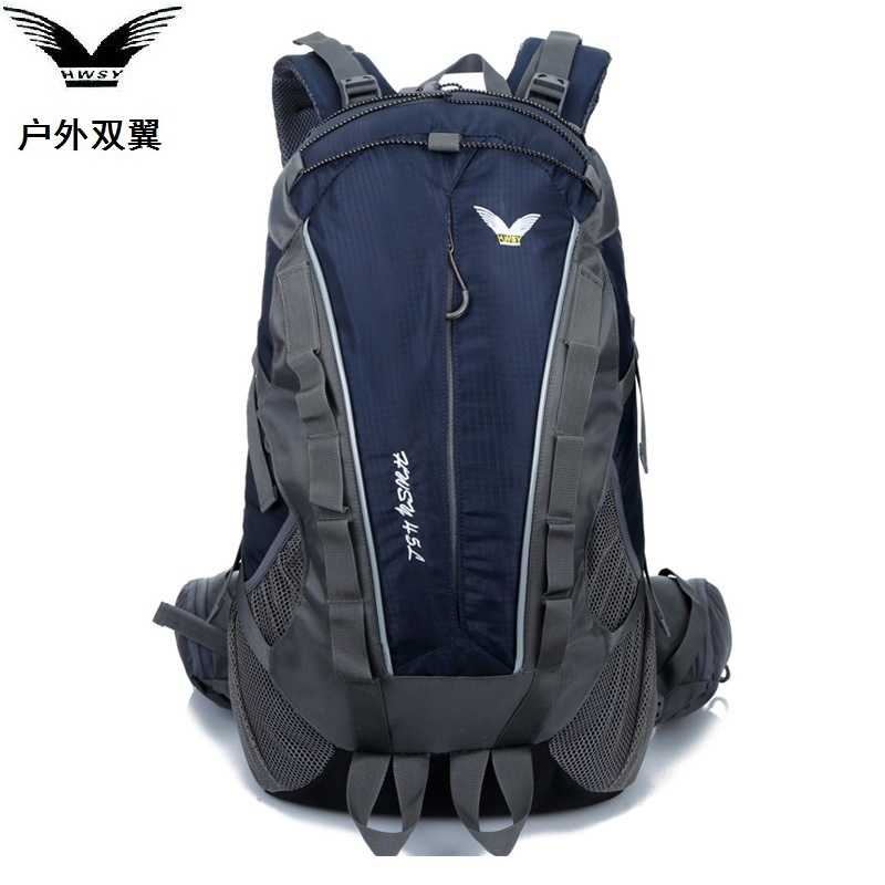 HUWAISHUANGYI 2017 2017new camping men and women mountaineering backpack outdoor travel waterproof student bag