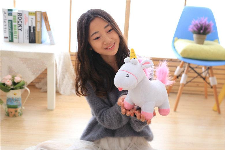 HTB1E7uSSXXXXXahXXXXq6xXFXXXH - Cute pink/blue stuffed PP Cotton Horse doll Christmas present kids doll baby plush toys 30cm Cartoon plush Unicorn toys VOTEE