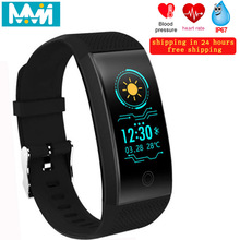 Smart Bracelet QW18 Heart Rate Blood Pressure Monitor Tracker Multi-Sport Waterproof Wristbands Bluetooth Band