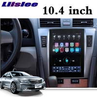 For Toyota Camry XV40 2007~2017 NAVI 2G RAM LiisLee Car Multimedia 10.4 ' Screen GPS WIFI Audio Radio Navigation MAP