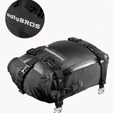 Free Delivery Motorcycle  Motorbike Seat Pack Multifunctional Waterproof Backpack Motocross Saddle Bag Bumper Modification Bale
