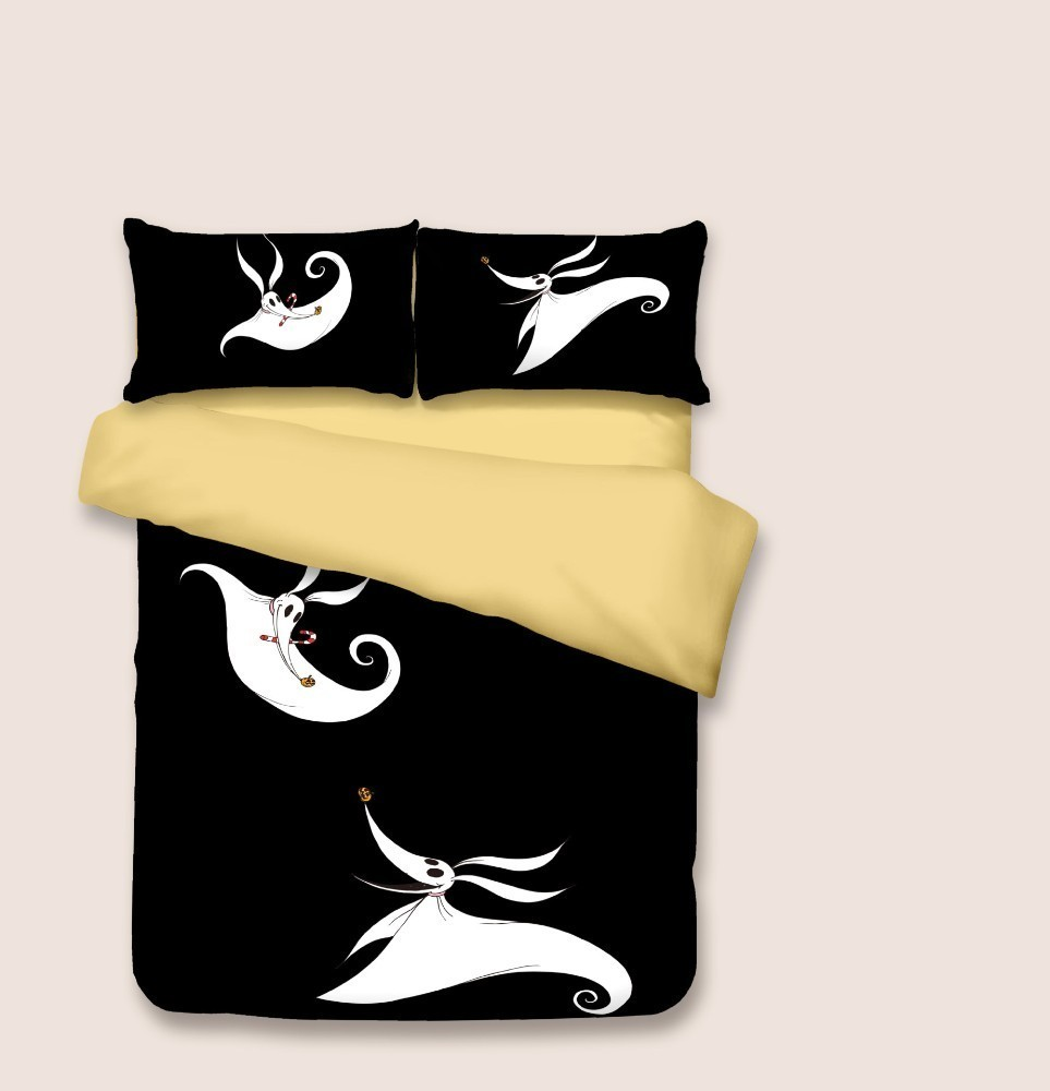 Quality Nightmare Before Christmas Duvet Bed Cover Sets Valentine 39 s Day 100 Microfiber Beddings And Bed Sets Luxury Duvet Cover in Bedding Sets from Home amp Garden