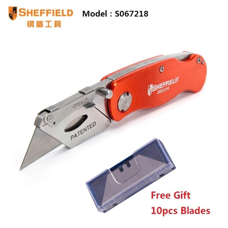 SHEFFIELD Utilità Coltello pieghevole Coltello in acciaio SK5 - Utensili manuali - Fotografia 5