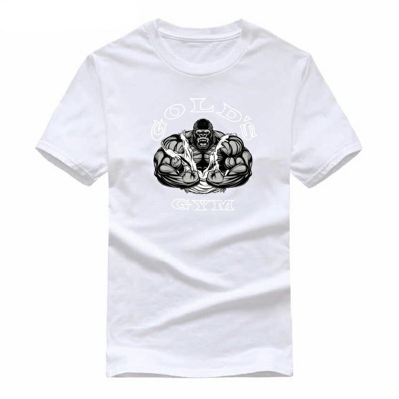 e2e293ac2d2ab Detail Feedback Questions about 100% cotton Muscle gorilla print casual mens  t shirts men s fashion shirts men s t shirts men s short sleeve t shirt t  shi ...