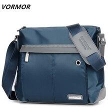 Мужская сумка через плечо VORMOR, винтажная модная сумка через плечо