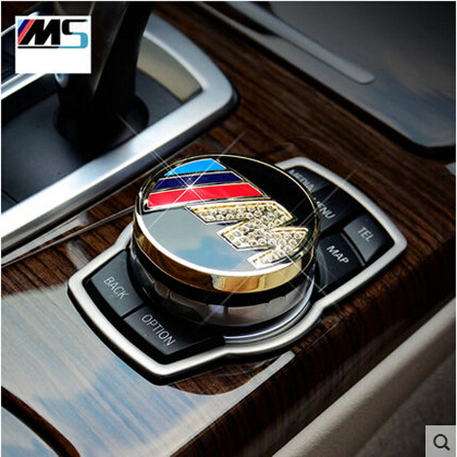 FOR BMW F20 F30 F34 F31 F35 F15 F16 F 25 F26 F10 F48 interior modified labeling multimedia decorative box Multimedia cover
