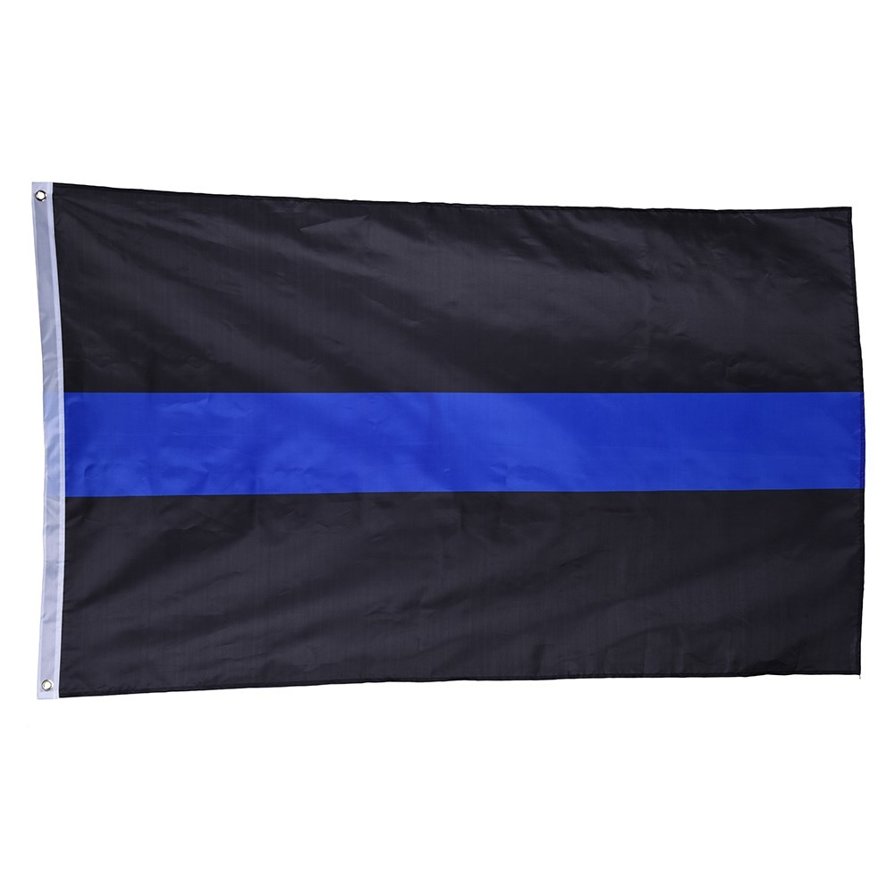 90*150 cm Flagge BlueLine USA Polizei Flagge Amerikanische Dünne ...