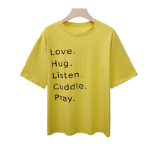 Summer New Charmed Alphabet Print Casual Women T-Shirt Short sleeve Casual Round neck Cheap Clothes Top Mode Femme S-2XL GBQ charmed