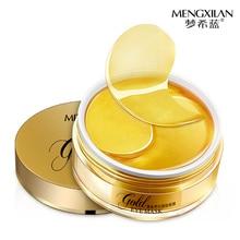 Gold Eye Patch 60pcs Korea Mask Ageless Sleep Hydrogel Patches Pads Dark Circles Moisturizing Face