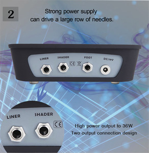 Image 4 - BiomaserプロP300 タトゥー電源 & 電源重要なデジタルタトゥー電源lcd機