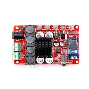 Image 5 - 25 Вт + 25 Вт TDA7492 CSR8635 беспроводной Bluetooth 4,0 аудио приемник усилитель плата NE5532 Preamp