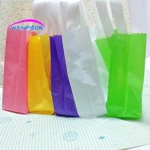 custom printed logo gift plastic bag/customized handle shopping bag and packaging bag/30x35x8cm