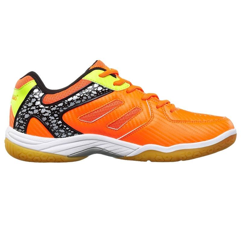 KAWASAKI Merek Profesional Sepatu Bulutangkis Hijau Lace Up Sneakers - Sepatu kets - Foto 2