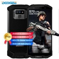 DOOGEE S70 lite 4GB 64GB IP68 Waterproof shockproof 5500mAh Smartphone NFC Octa Core 5.99FHD+ Global 4G Cell phone