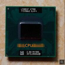 Original Intel X7900 cpu para Intel Core 2 Duo Extrema 4 M 2.80G 800 MHz SLA33 SLAF4 Processador de Laptop PM965