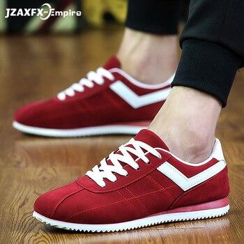 Высокое качество, модная мужская обувь из вулканизации, черные, белые мужские туфли на плоской подошве, весенне-летние мужские парусиновые ...
