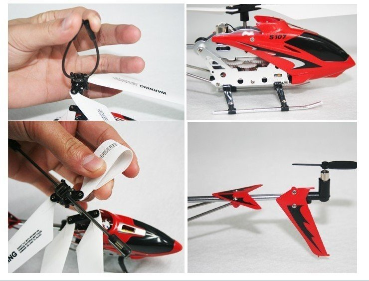 Original Syma S107 Helicopter  3CH  Remote Control Helicopter Radio Control  Metal S107G RC Helicopter With GYRO  Free Shipping