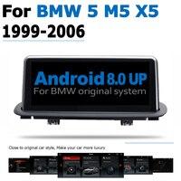 hd מסך אנדרואיד 8.0 עד DVD לרכב Navi Player עבור BMW 5 Series M5 X5 1999 ~ 2006 מסך אודיו סטריאו HD Touch הכל באחד (1)