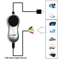 Ezcap USB 2.0 HD Video Capture TV DVD VHS DVR Adapter Recorder Converter Analoge Video Audio naar Digitale voor Windows 10 8.1 7