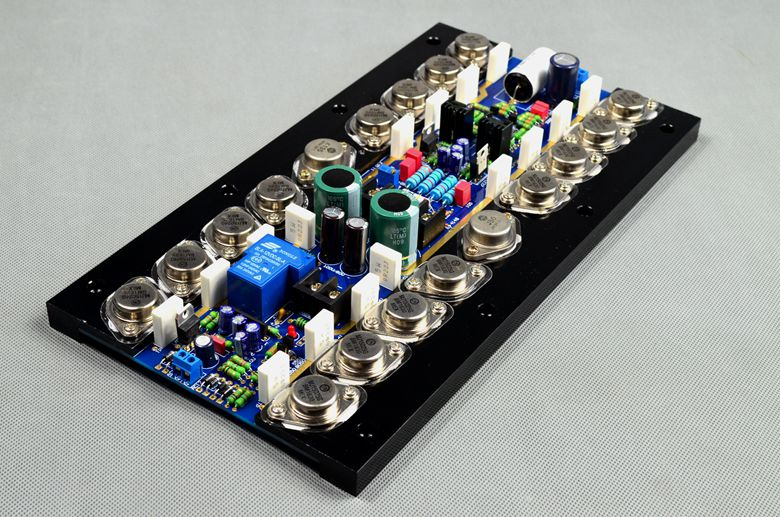 купить FET push J50 K135 ON 15024 15025 T900 Mono 800W High Power Tube Gold Seal Tube HIFI Class A Power Amplifier Board