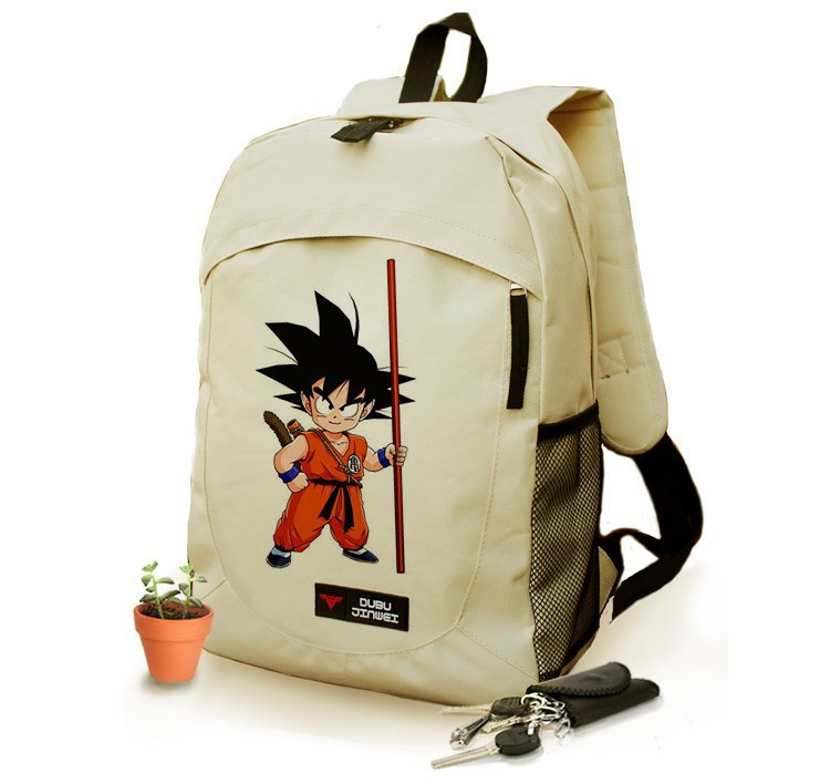 dragon ball z school bag student supplies shoulder bags for chirdren teenagers kids backpack men women