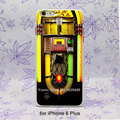 funny jukebox Pattern hard White Skin Case Cover for iPhone 4 4s 4g 5 5s 5c 6 6s 6 Plus